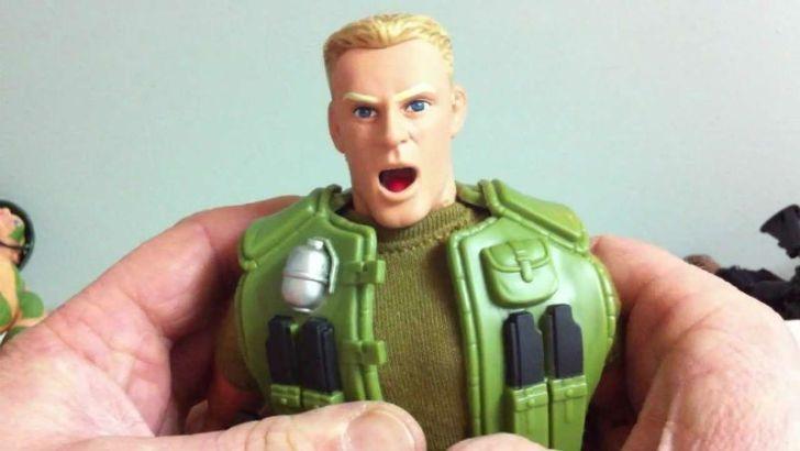 A screenshot of a G.I. Joe Talking Duke figure