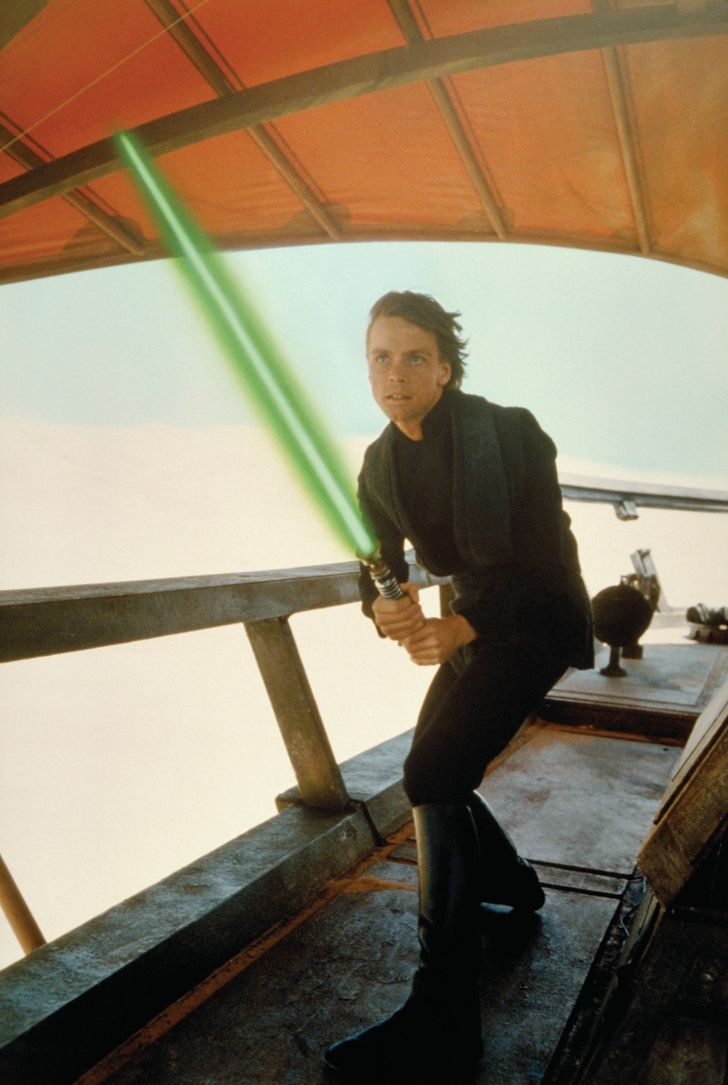 Mark Hamill stars as Luke Skywalker