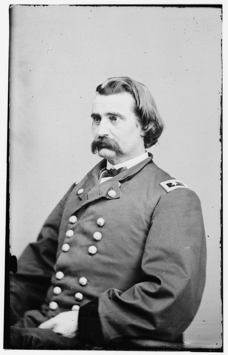 Portrait of Maj. Gen. John A. Logan, officer of the Federal Army