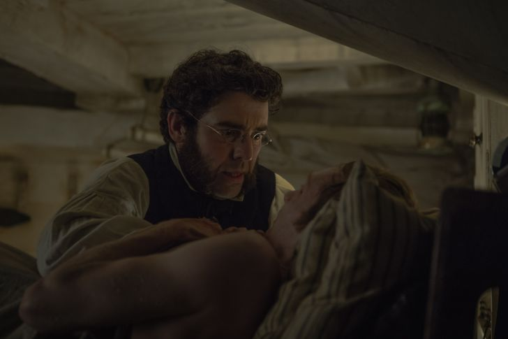 A scene from AMC's The Terror with Goodsir and Young