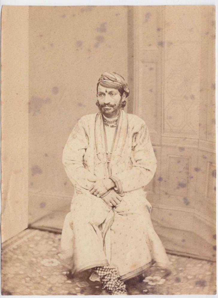 Ram Singh II, the Maharaja of Jaipur