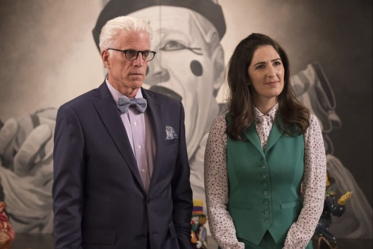 Ted Danson and D'Arcy Carden in 'The Good Place'