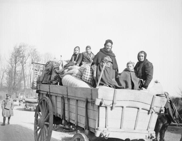 Refugees in France, World War I