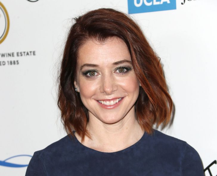 Actress Alyson Hannigan attends the Jonsson Cancer Center Foundation's 19th Annual 'Taste for a Cure' at the Regent Beverly Wilshire Hotel on April 25, 2014 in Beverly Hills, California