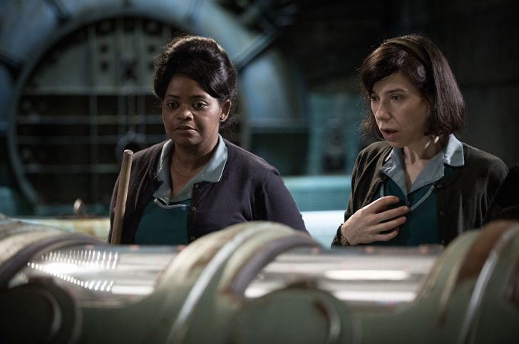Octavia Spencer and Sally Hawkins in The Shape of Water (2017)