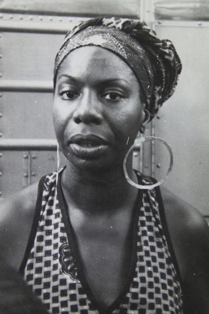 A photo of Nina Simone circa 1969