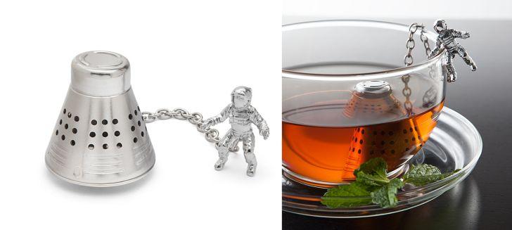 astronaut tea infuser