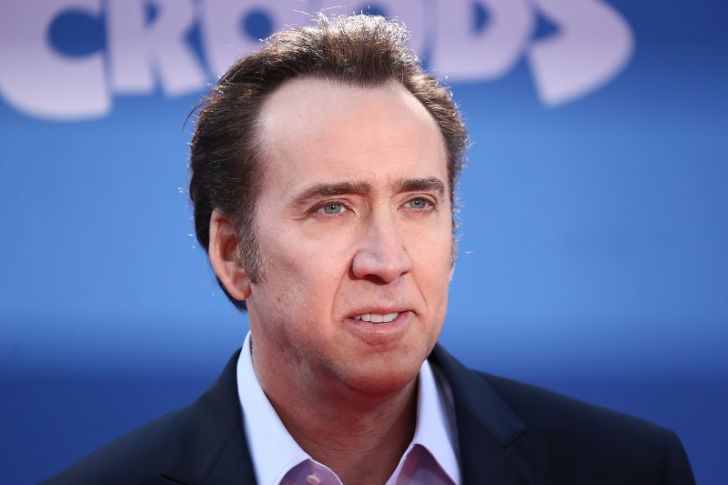 Nicolas Cage appears in New York for a film premiere in 2013