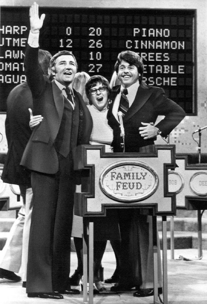 Richard Dawson hosts 'Family Feud'