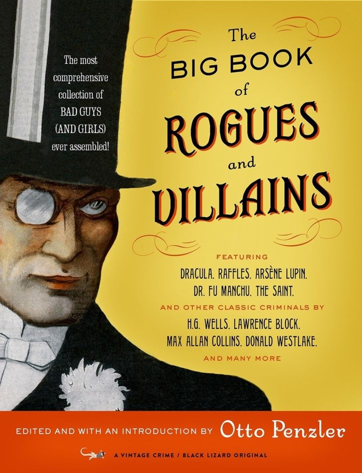 Cover of the Big Book of Rogues and Villains