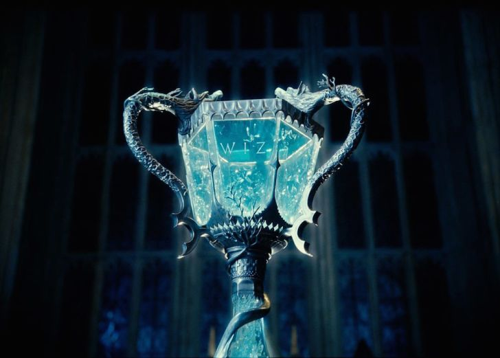Twiwizard cup from Harry Potter movie.