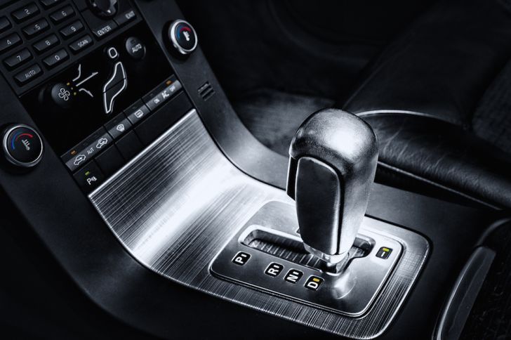 Photo of an automatic car