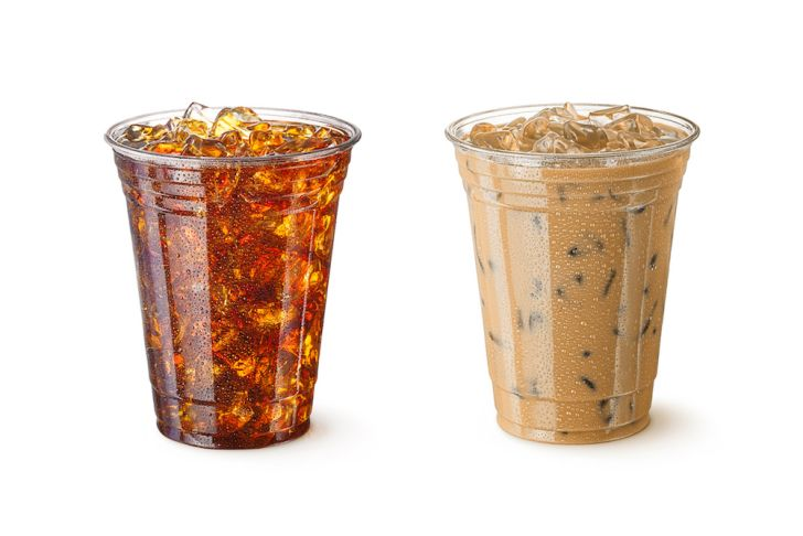 Photo of iced coffees