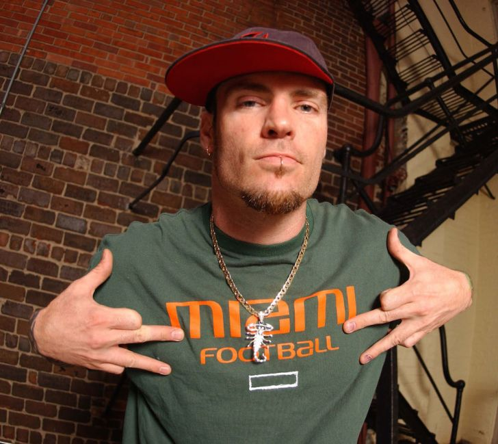 Vanilla Ice in a Miami Football T