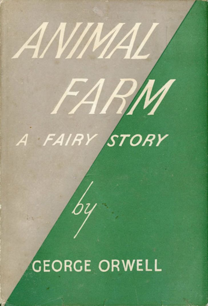 The cover of George Orwell's Animal Farm