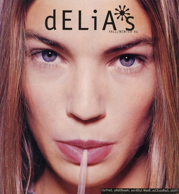 The cover of the first-ever dELiA*s catalog