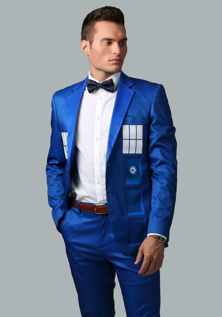 A 'Doctor Who' TARDIS dress jacket