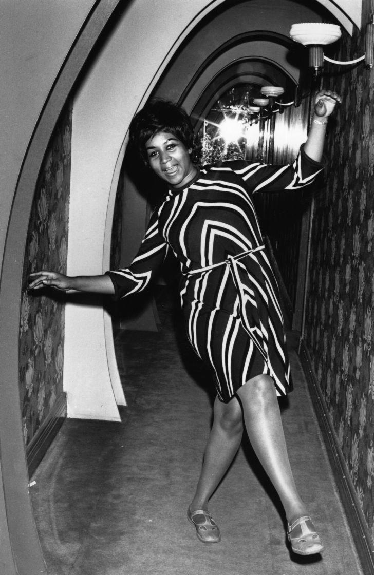 Aretha Franklin circa 1968.