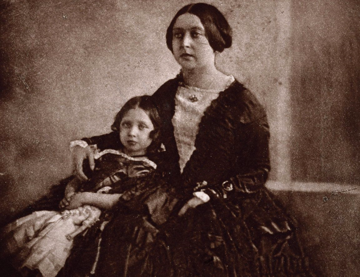 Queen Victoria and her eldest child