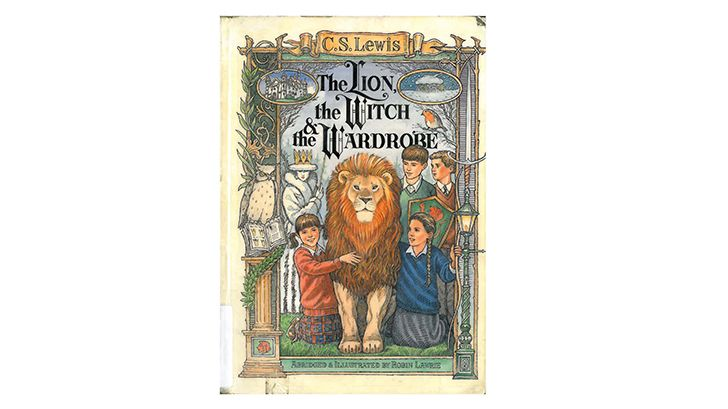 The cover of 'The Lion, the Witch, and the Wardrobe'