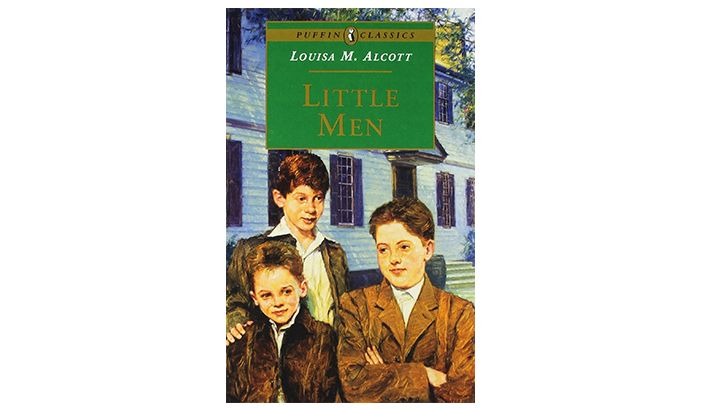 The cover of 'Little Men'