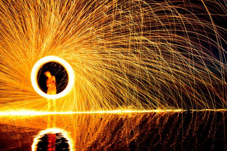 wheel firework