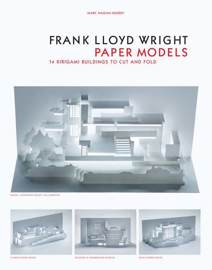 Cover of 'Frank Lloyd Wright Paper Models'