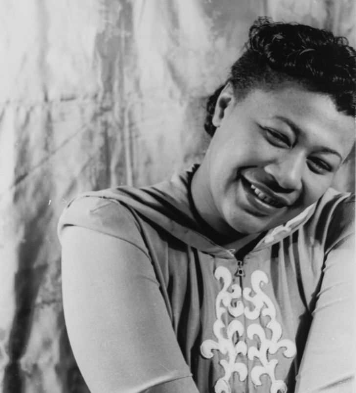 A photo of Ella Fitzgerald