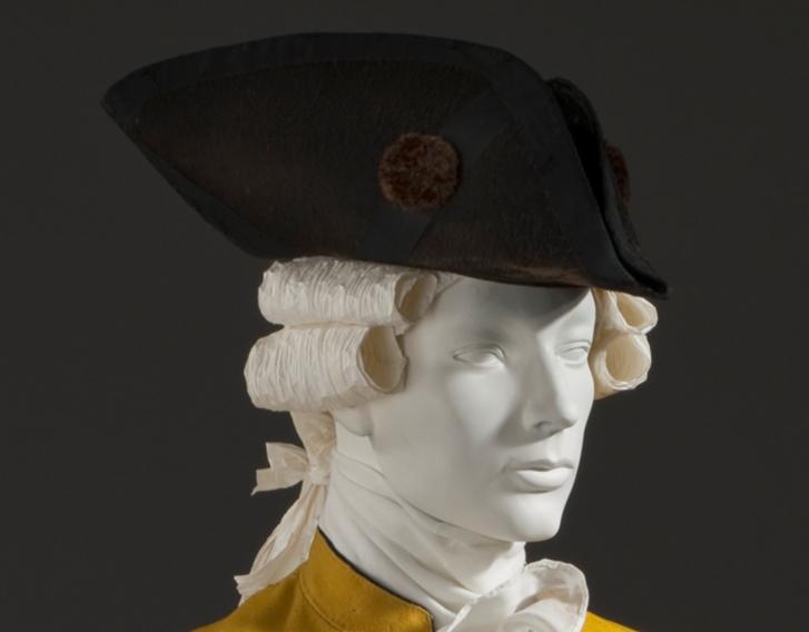 A tri-corner hat