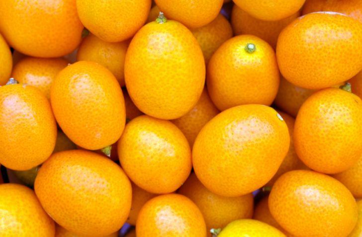 A bunch of kumquats