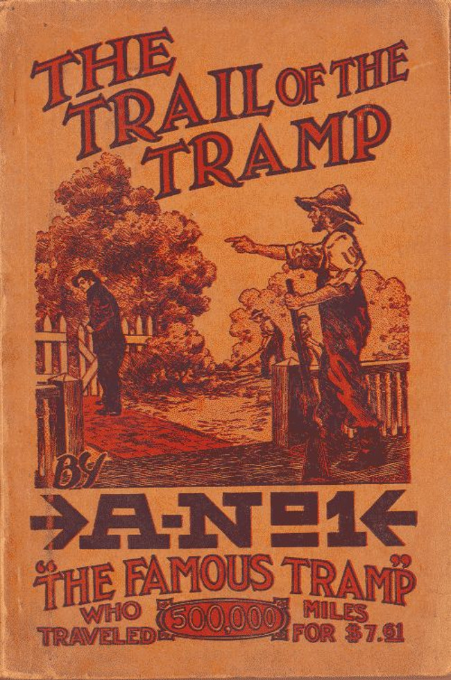 Book cover for The Trail of the Tramp